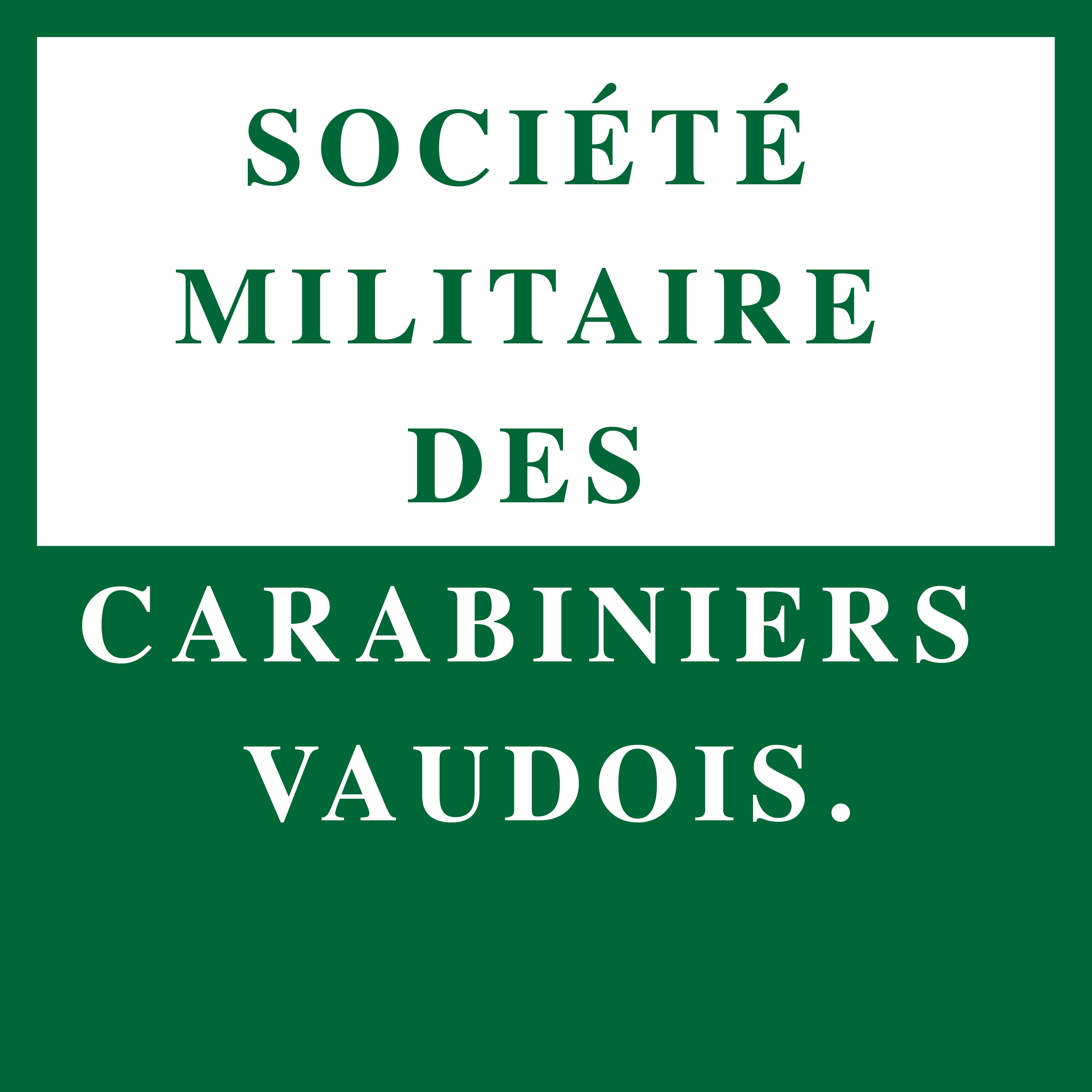 Société Militaire des carabiniers vaudois